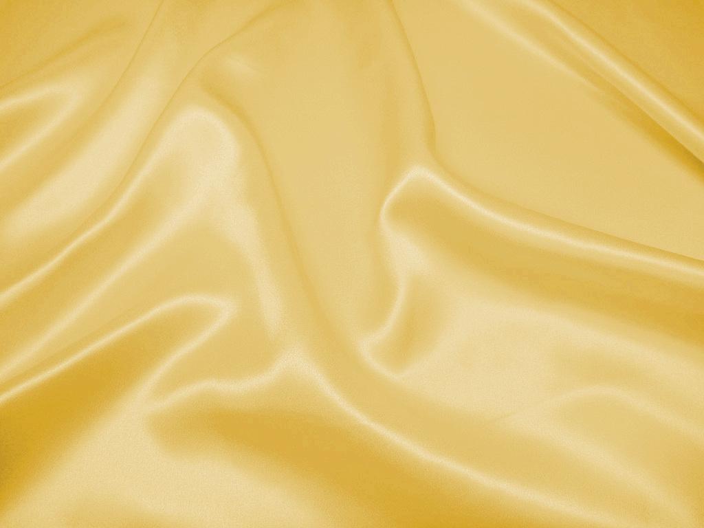 Tkanina jedwabna satyna w kolorze żółtym