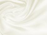 Tkanina jedwabna fular mleczna biel