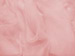 Tkanina jedwabna szyfon mgiełka kwiat brzoskwini w cieniu